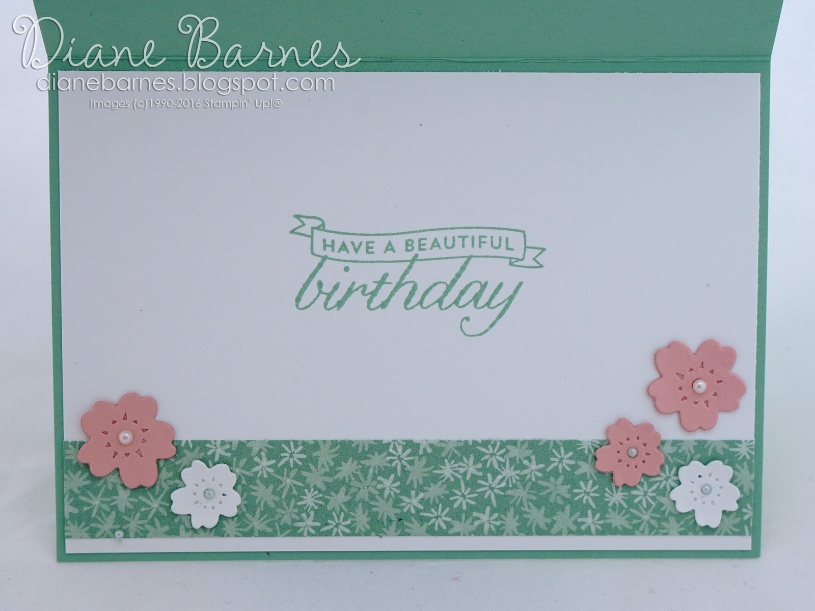 colour me happy: Bloomin\' Heart birthday - 100 years young