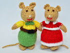 Mice Toy Knitting Pattern