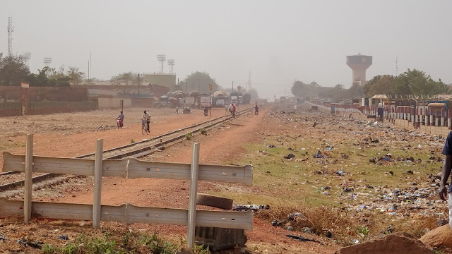 From Ouagadougou to Abidjan in one day with the train