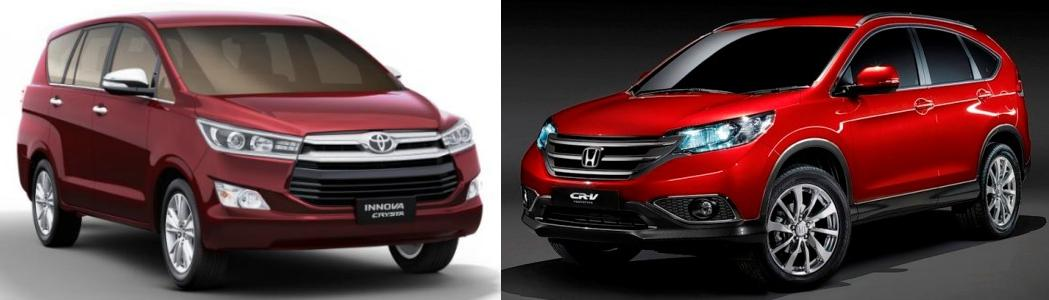 innova crysta vs honda cr v comparison review. Black Bedroom Furniture Sets. Home Design Ideas