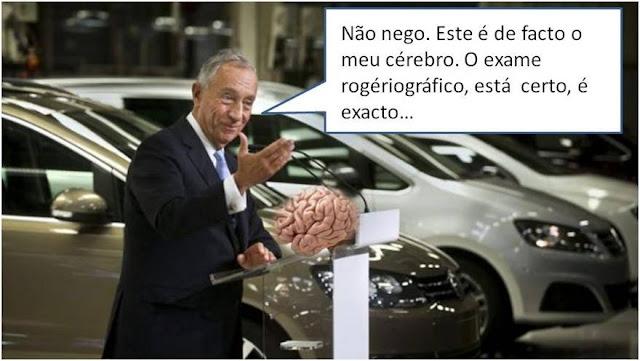 Marcelo Rebelo de Sousa confessa...