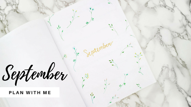 September Bullet Journal Setup