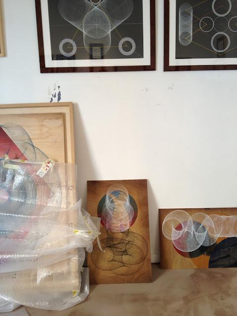 "Moneyless ""Alea Iacta Est"" Rome Solo Show Preview At 999 Contemporary Gallery. 6"