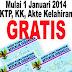 GRATIS..!!! Urus KTP dll