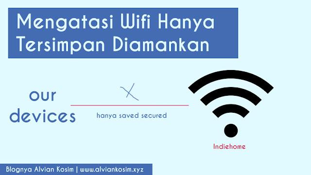Mengatasi Wifi Disimpan Diamankan