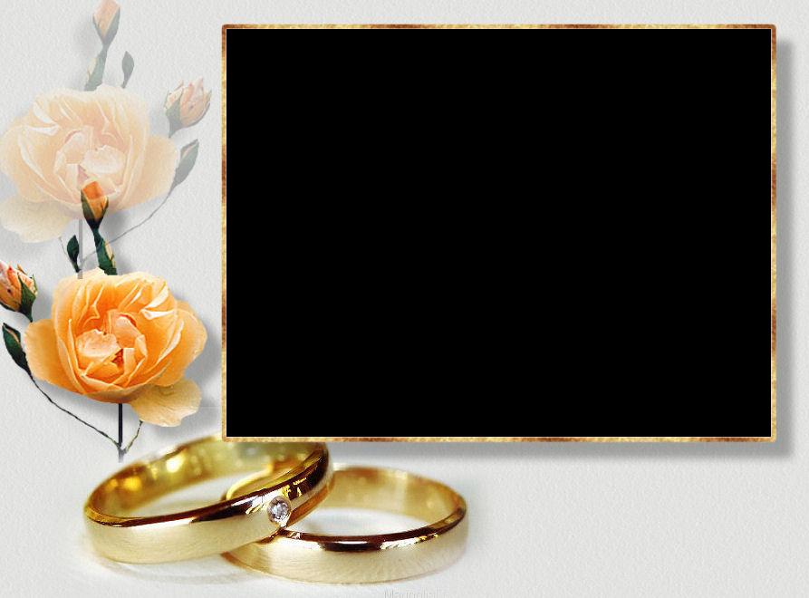 Шаблоны открыток с золотой свадьбой, картинки