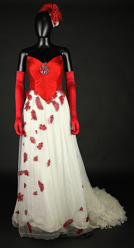Lucy Westenra ball gown Dracula