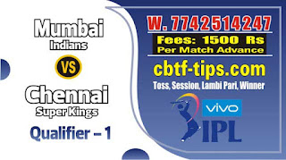 Qualifier 1 Match IPL Match Prediction Tips by Experts MI vs CSK