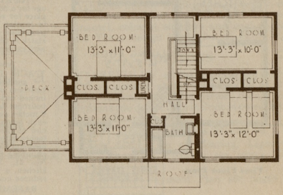 5 window sears lexington floor plan