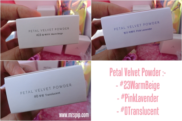 unboxing the Petal Velvet Sunaway