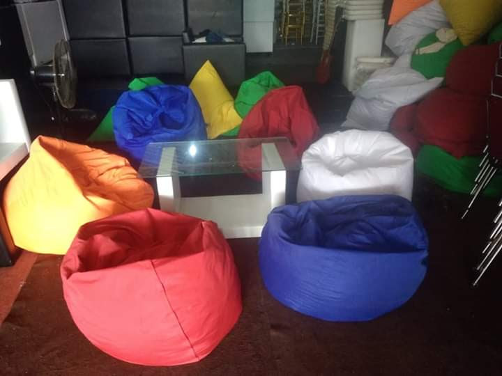 Sewa Beanbag | Rental sofa Bean Bag | Tempat duduk gabus butiran Beanbag
