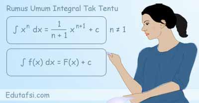 Rumus dasar integral tak tentu