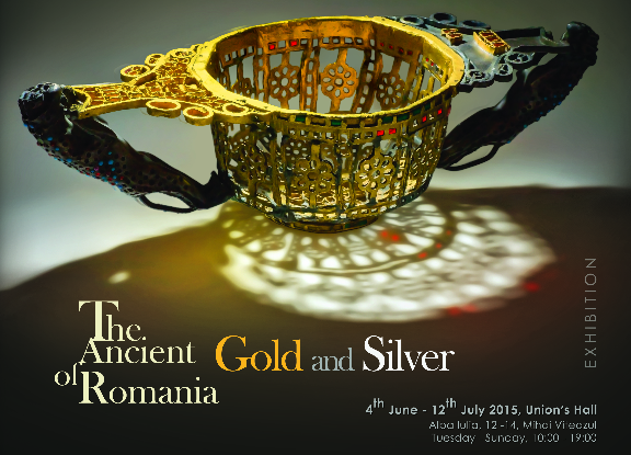 'The Ancient Gold and Silver of Romania' at the National Union Museum of Alba Iulia, Romania