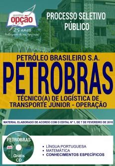 Apostila concurso Petrobras  - Técnico de Logística de Transporte Júnior Operação