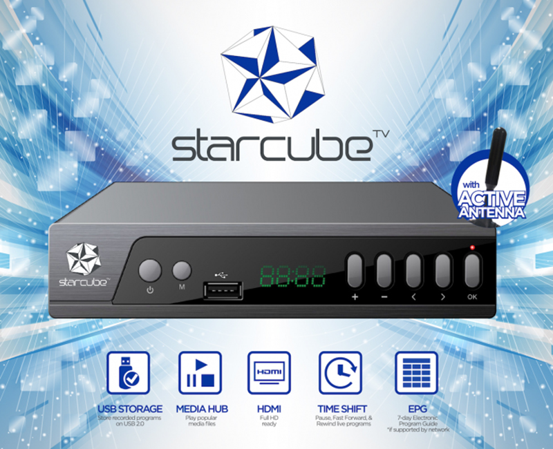 Starcube Digital TV Box Has An Introductory Priced Of PHP 1290!