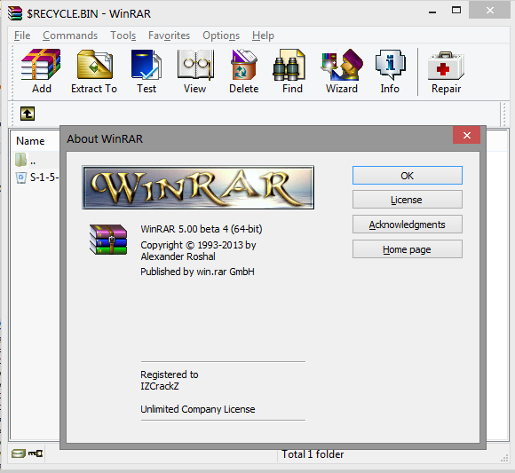 winrar license free download