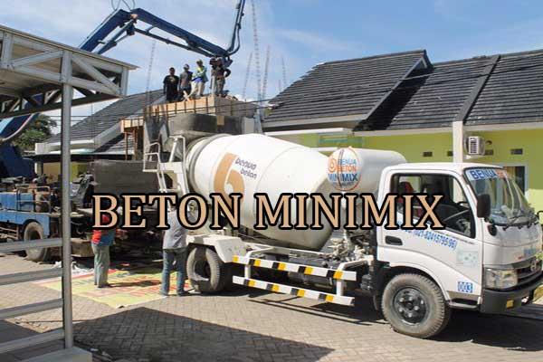 Harga Beton Minimix Truck Molen Kecil Per M3 Terbaru 2021