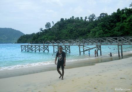 Ajis dan pantai Karanggongso