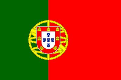 Logo Gambar Bendera Negara Portugal PNG JPG ukuran 400 px
