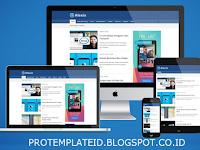 Template Alexia Bamz Premium Original Blogger Gratis