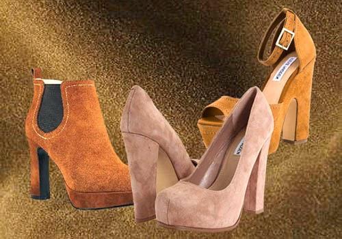 Sepatu wanita yang menggunakan bahan Suede nampak lebih elegan tapi rentan  kotoran. 214d72b306