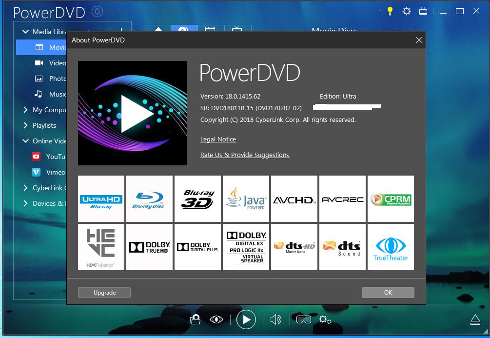 cyberlink powerdvd 9 ultra activation key