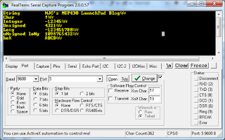 MSP430 LaunchPad: printf() for the MSP430