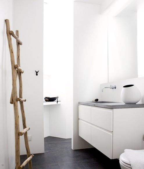 Ev dekorasyon hob dekoratif merdivenler for Ikea scaletta bagno