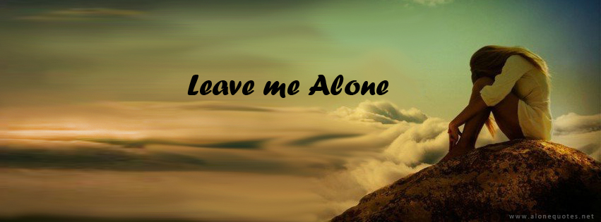 Alone Girl Facebook Cover Photo
