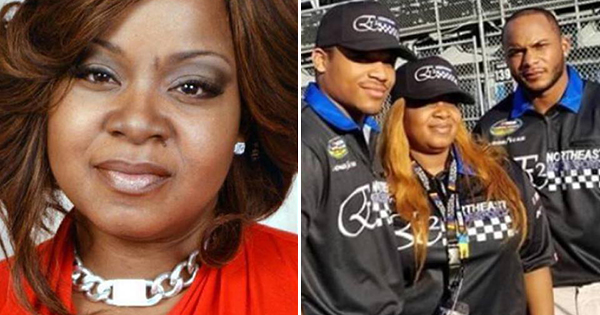 Melissa Harville-Lebron, the first Black woman to own a NASCAR team
