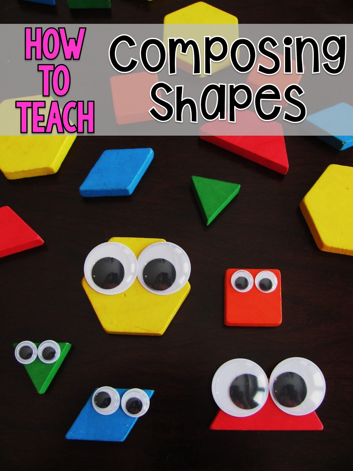 Miss Giraffe\'s Class: Composing Shapes in 1st Grade