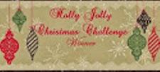 Winner at Holly Jolly Christmas
