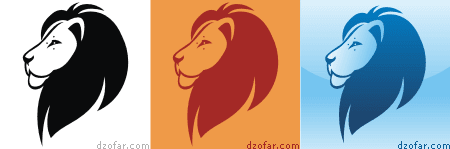 Singa beda warna
