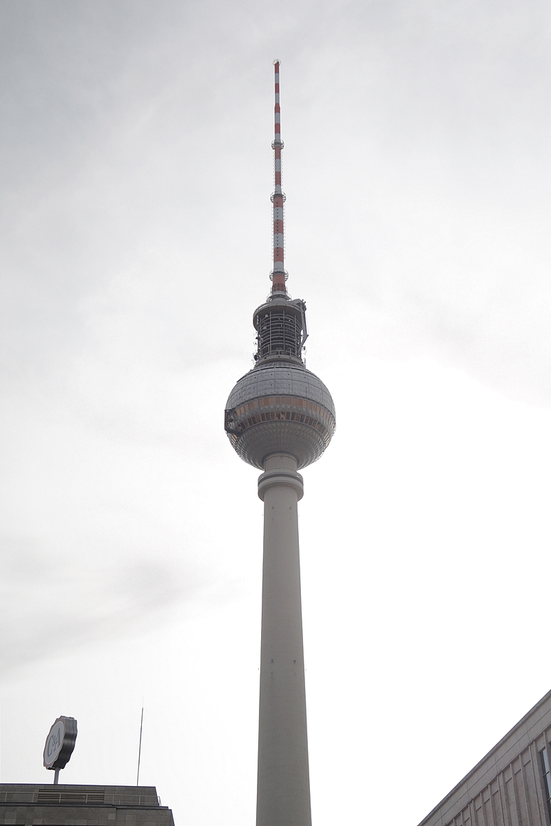 Berlin Photo Diary August 2017 Fernsehturm Alex