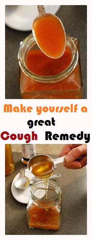 Make yourself a great cough remedy