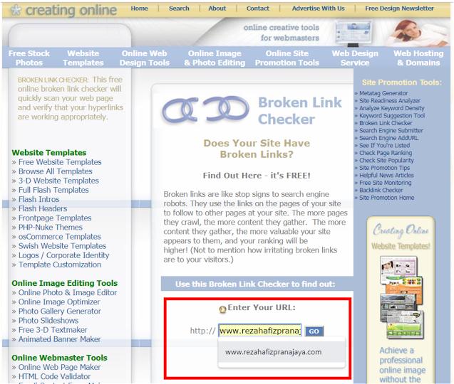 Link Checker Tool