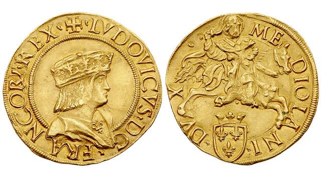 Doppio Ducato del rey de Francia Luis XII como duque de Milán