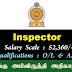 Inspector - தெங்கு அபிவிருத்தி அதிகாரசபை