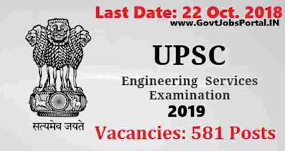UPSC Engineering Service Examination 2019