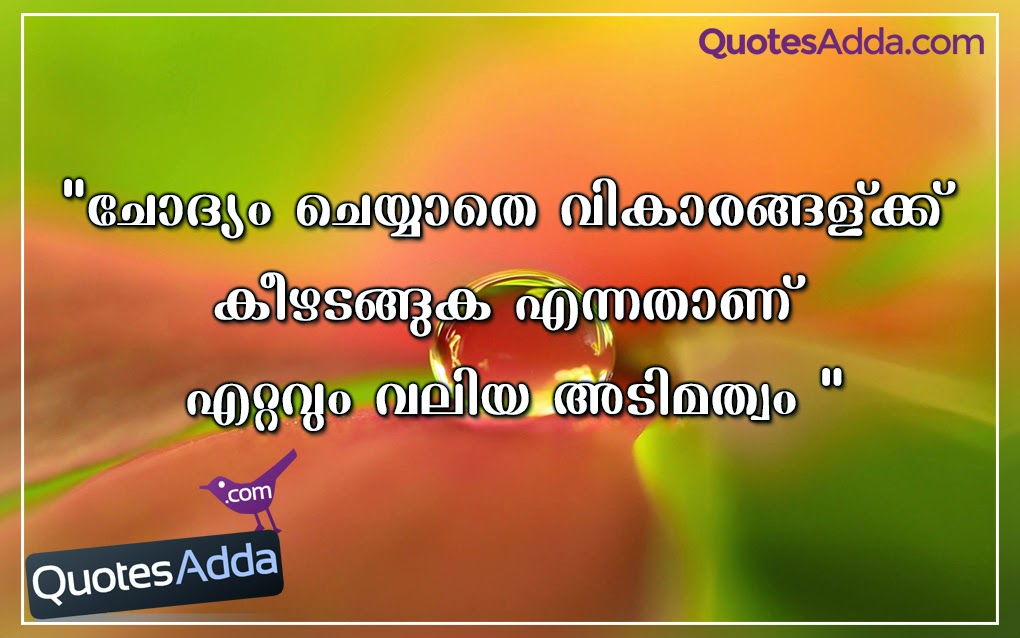 Inspirational Quotes In Malayalam Quotesgram 67 Quotes