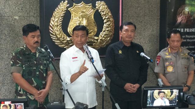 Soal Kasus HRS, Wiranto: Itu Urusan Arab