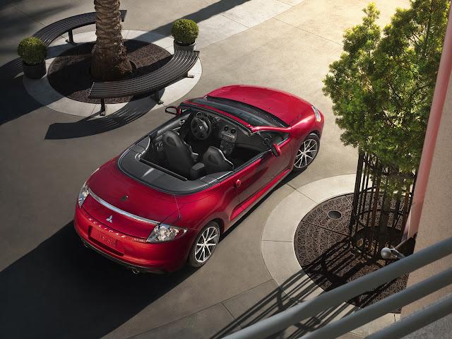 Mitsubishi Eclipse 4G Spyder, otwarte nadwozie, silnik V6
