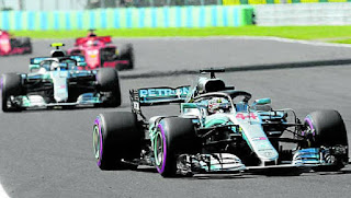 FÓRMULA 1 - Victoria de Hamilton en Hungría y se va al parón con un colchón de 24 puntos sobre Vettel