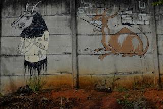 Graffiti in Puriscal
