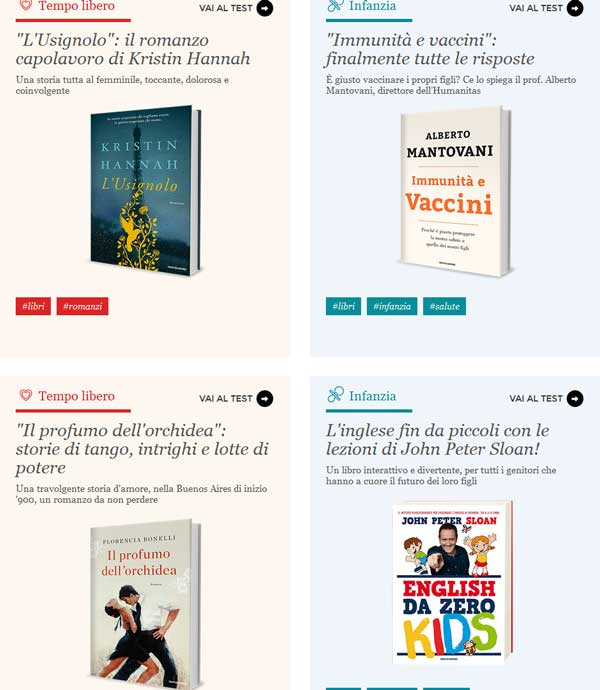 libri Mondadori su Opinion Model