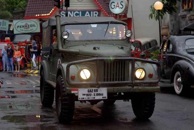 GAZ 69 : Knalpotnya Menghadap Ke Atas - Museum Angkut #1