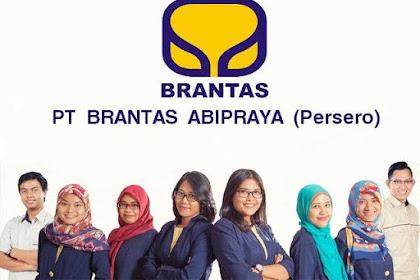 Penerimaan Besar - Besaran Karyawan BUMN PT. Brantas Abipraya (Persero) Terbuka 6 Posisi Jabatan Terbaik
