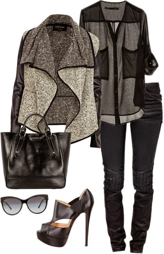 5 Casual Fall Polyvore Combinations}