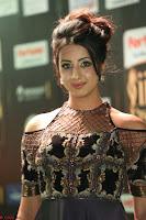 Sanjjanaa Galrani aka Archana Galrani in Maroon Gown beautiful Pics at IIFA Utsavam Awards 2017 30.JPG