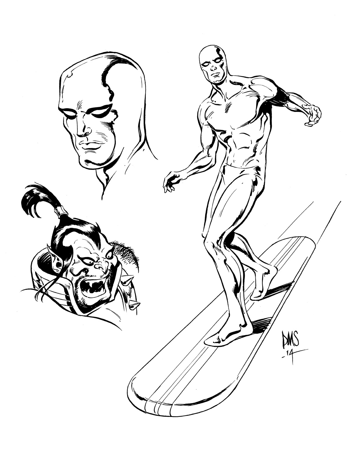 Giant-Size Marvel: Silver Surfer by Paul Smith